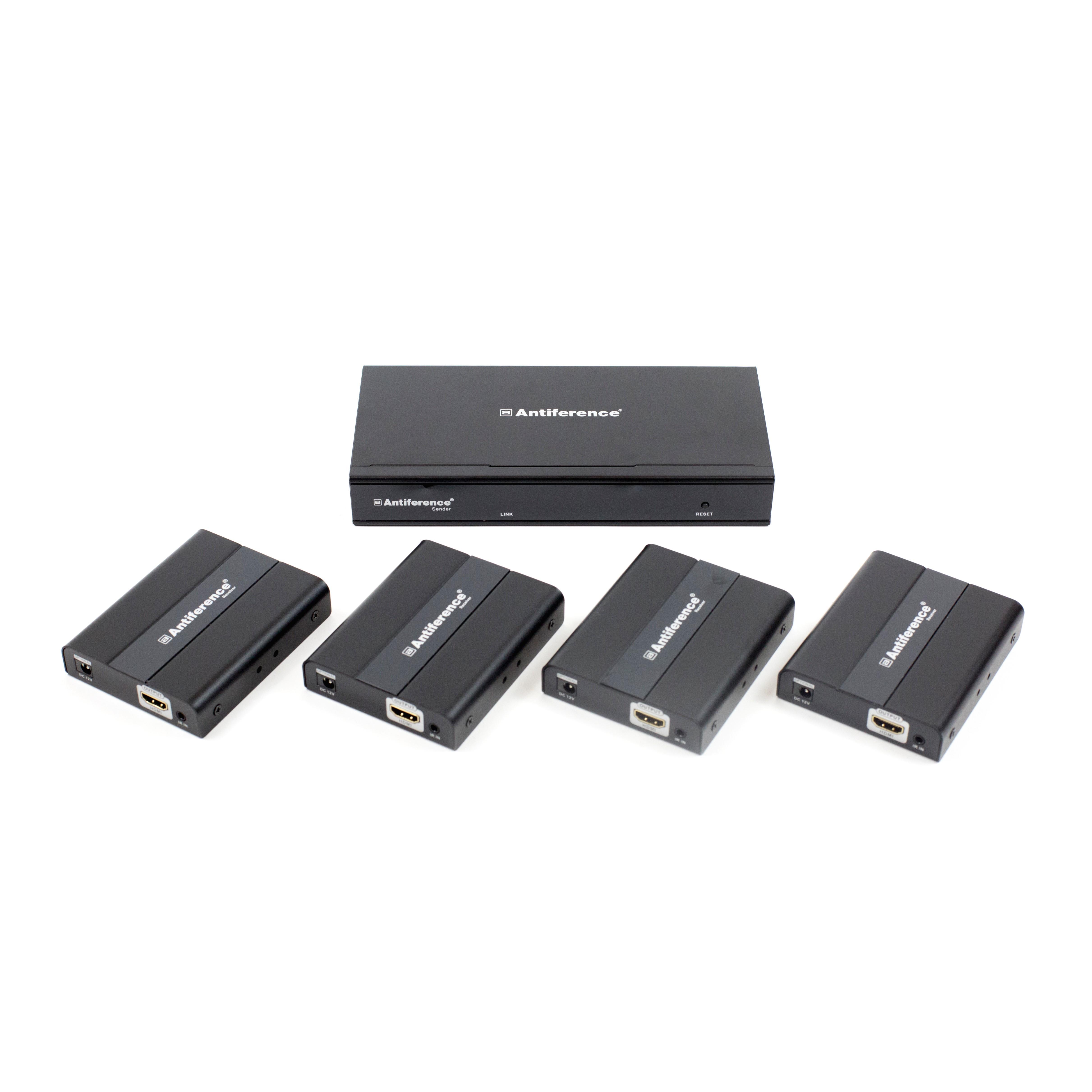 HDMI 2 0 Splitter/Extender Kit 4K w/HDCP 2 2 - Antiference