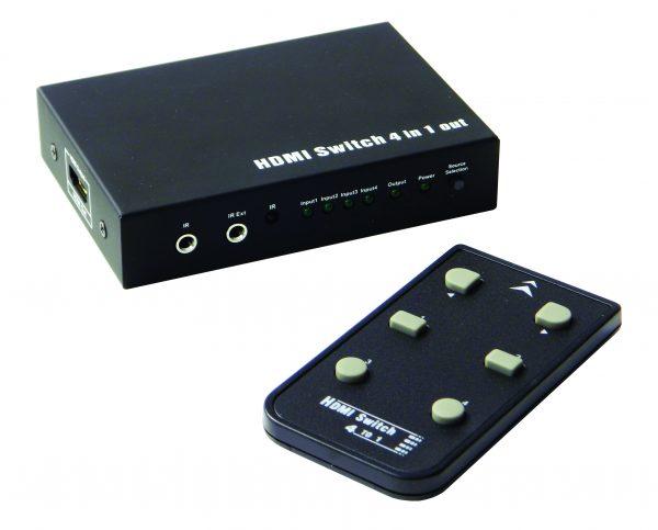 HDMI0401S+remote