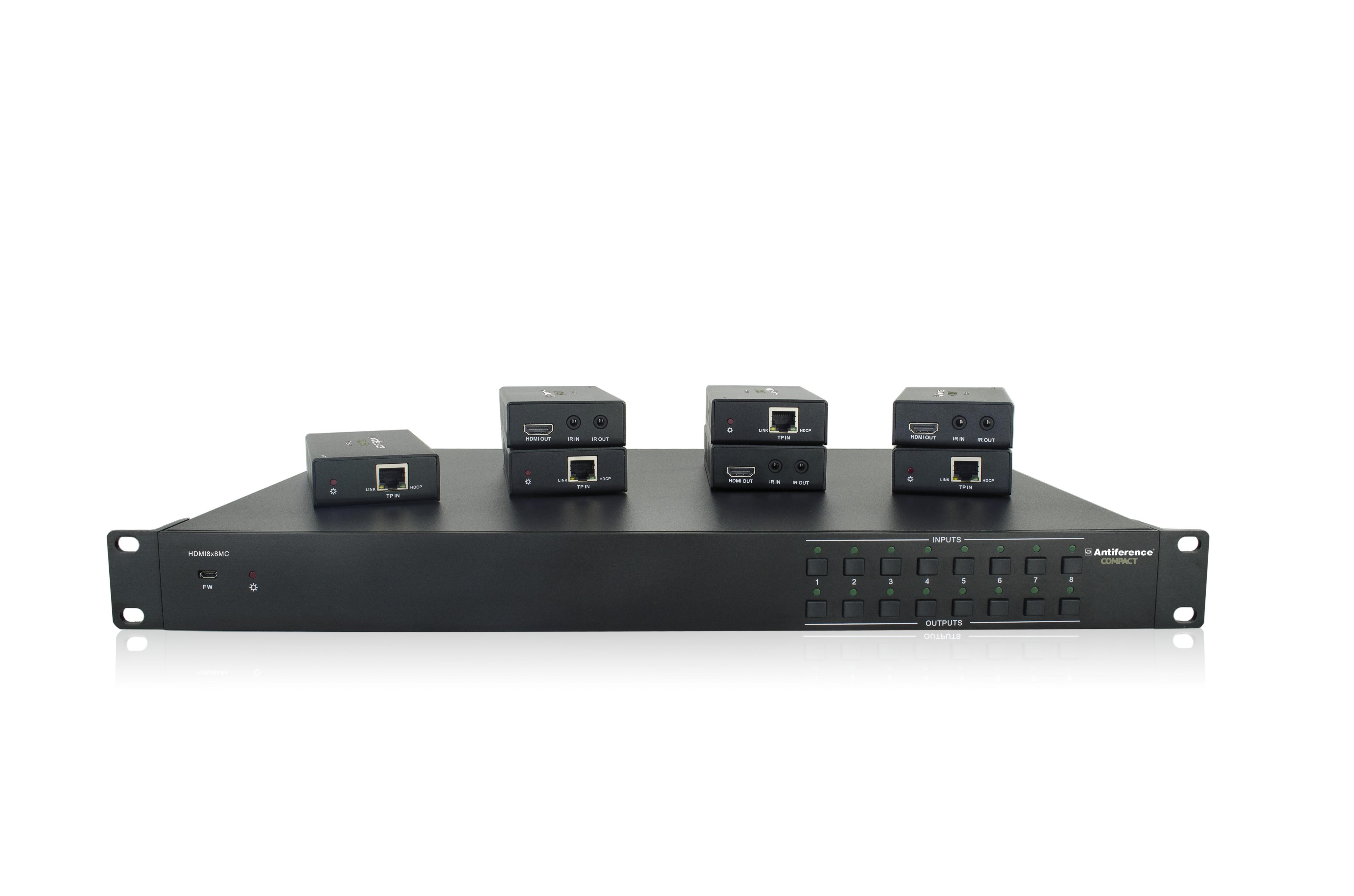 HDMI8X8MC Front Panel Image